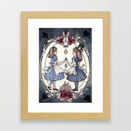 Wonder and Wander Framed Art Print