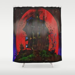 There Was a Crooked House - 055 Shower Curtain