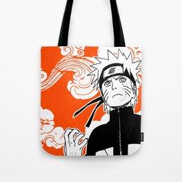 ninja anime orange Tote Bag