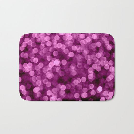 Purple Scrub  - JUSTART © Bath Mat