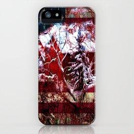 Patriotic American Barn iPhone Case