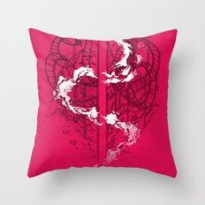 Coaster Catastrophe Throw Pillow
