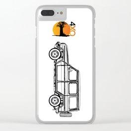 Gwagen 4xOverland Clear iPhone Case