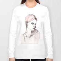 emma watson Long Sleeve T-shirts featuring Emma by Lebats