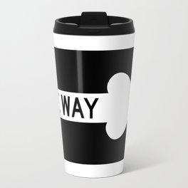 one way Travel Mug