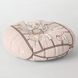 MUOUS Doll Floor Pillow