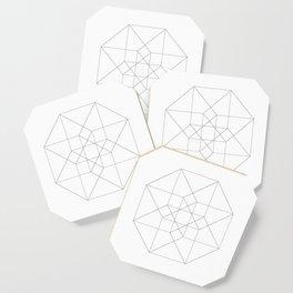 Tesseract Coaster