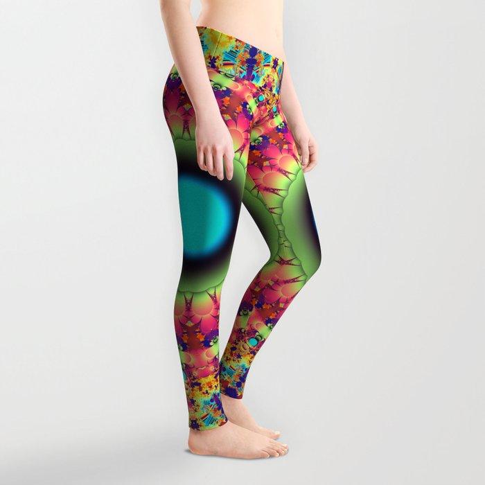 Colourful fantasy pattern Leggings