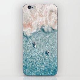 Pink Foam iPhone Skin
