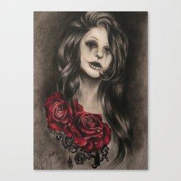 Unworthy Canvas Print