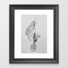 Dinah Framed Art Print