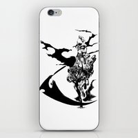 durarara iPhone & iPod Skins featuring Celty & Shooter by Prince Of Darkness