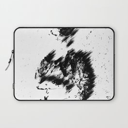 Abstract Soldier (Black) Laptop Sleeve