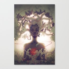 Mother Earth Canvas Print