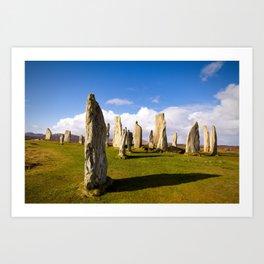 Standing Stones of Callanish Art Print