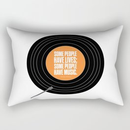 Lab No. 4 - Some people have lives John Green Will Grayson Novels Inspirational Quotes Poster Rectangular Pillow