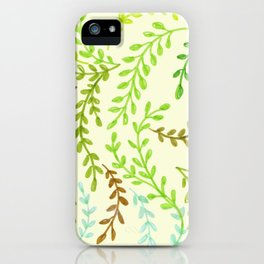 Leaves, 2 iPhone Case