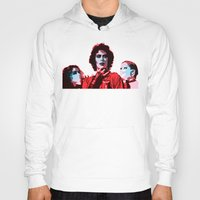 rocky horror picture show Hoodies featuring The Rocky Horror Picture Show - Pop Art by William Cuccio aka WCSmack