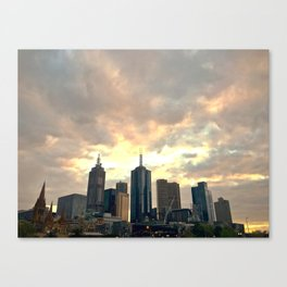 Majestic Imposing Melbourne Canvas Print