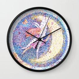 Spirit of the Night, a fairy Wall Clock