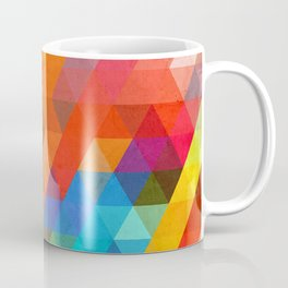 Color Triangles Coffee Mug
