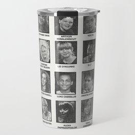 Degrassi Jr High - Class of 88 - Yearbook Art Travel Mug