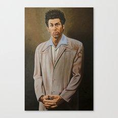 Kramer Seinfeld painting Canvas Print
