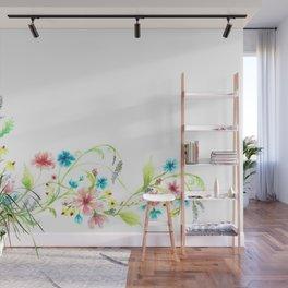 Beautiful flowers Wall Mural