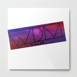 Wdm34609 logo3 Metal Print