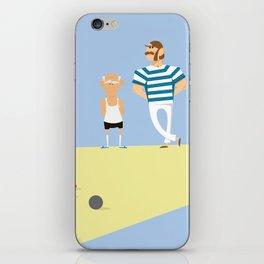 men bowling iPhone Skin
