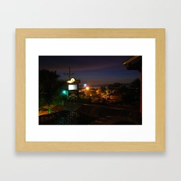 Cebu Night View Framed Art Print