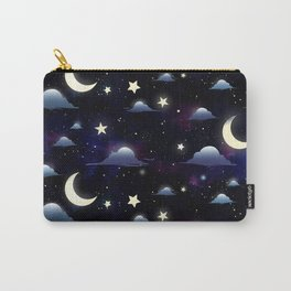 Crescent Moon Sky Carry-All Pouch