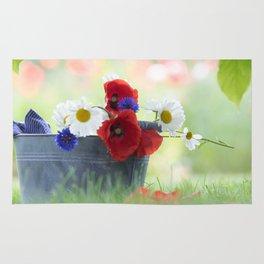 Poppies Symphonies Rug