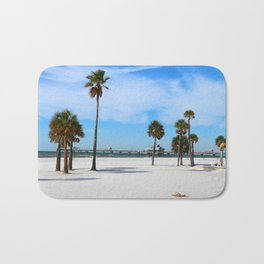 A Florida Winterday Bath Mat