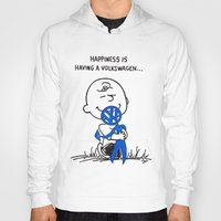 volkswagon Hoodies featuring Happiness is ......... by BulldawgDUDE