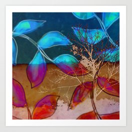 Branched Art Print