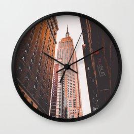 New York 16 Wall Clock