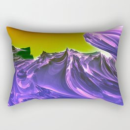 Purple Ocean Rectangular Pillow