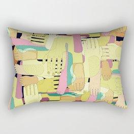hands and foots Rectangular Pillow