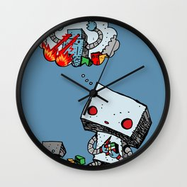 A Dream About the Future Wall Clock