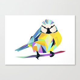Benni Blaumeise - Benni Blue Tit Canvas Print