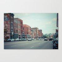 nashville Canvas Prints featuring Nashville by Sanguine Eyes