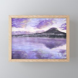 Mount Fuji Framed Mini Art Print