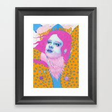 'Cause I wanna! Framed Art Print