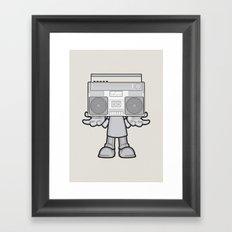 Radio Head Framed Art Print