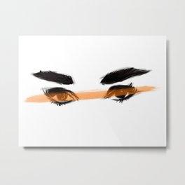 Audrey's eyes 2 Metal Print