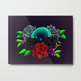 June Birthstone Dragonball #2 Metal Print