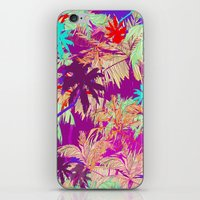 palm trees iPhone & iPod Skins featuring Palm Trees by Marcella Wylie