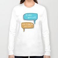 parks Long Sleeve T-shirts featuring Parks and Recreation by Elanor Jarque