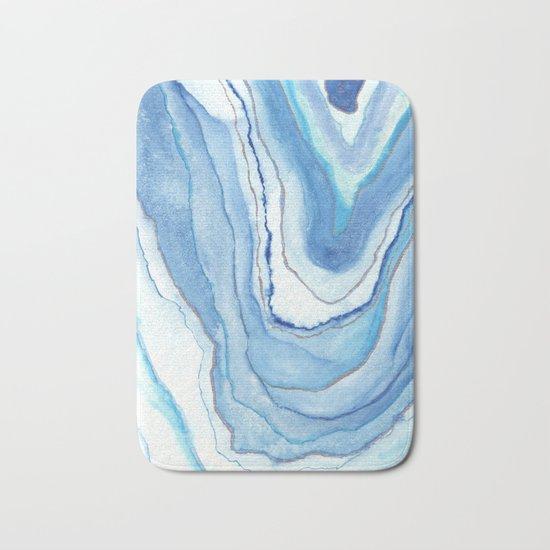 Agate Watercolor 12 Bath Mat